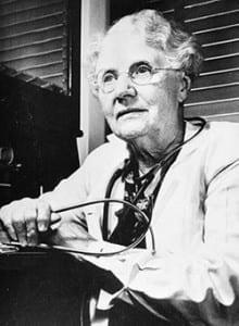Dr. Bertha Van Hoosen