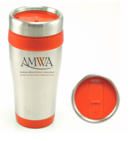 AMWA Travel Mug
