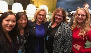 AMWA Leaders at the United Nations Commission on the Status of Women