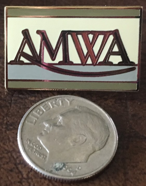 AMWA Lapel Pin