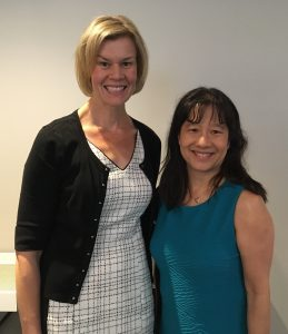 L-R Dr. Christina Wichman, Dr. Eliza Chin
