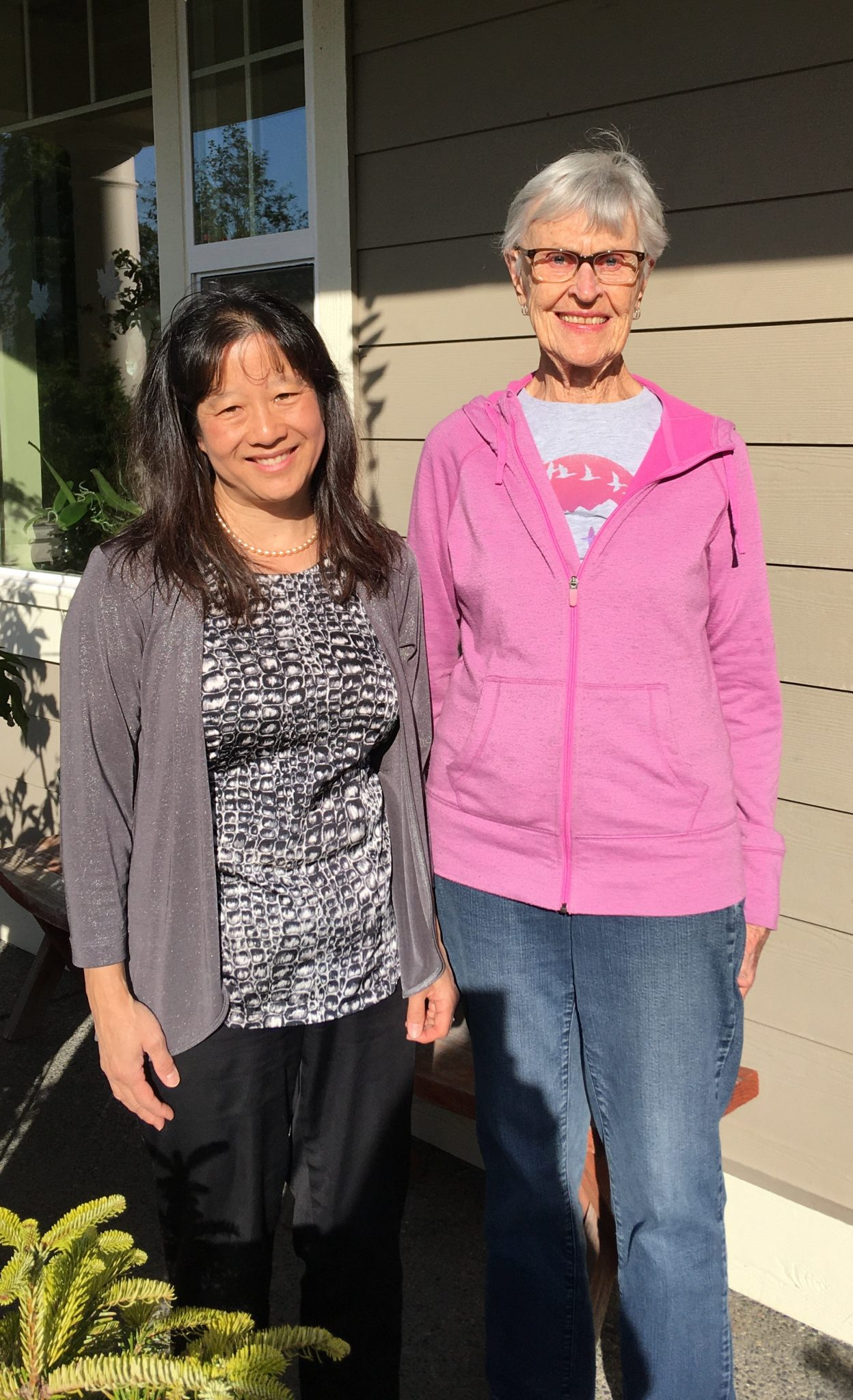 Dr. Eliza Chin with Dr. Vivian Harlin